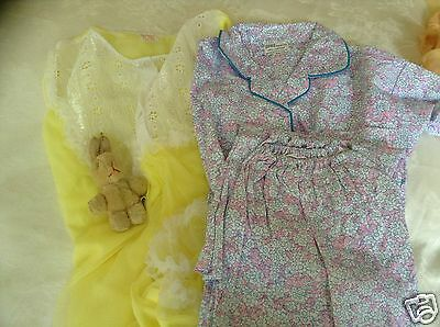 VINTAGE AUTHENTIC CLOTHING CHILDRENS VARIOUS BUNDLE SLEEPWEAR  UNUSED  70s