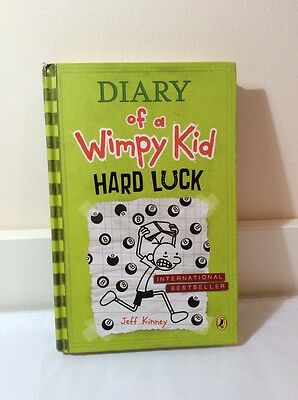 Diary Of A Wimpy Kid - Hard Luck - Great Condition Hardback - Jeff Kinney