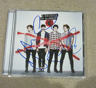 5SOS--5Seconds of Summer-- Signed CD