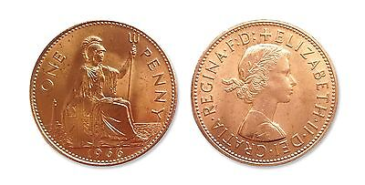 Coins for collectors - 1966 World Cup Winners One Penny / 1p uncirculated coin