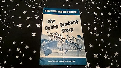 The Bobby Tambling Story - Signed Twice By Bobby Tambling