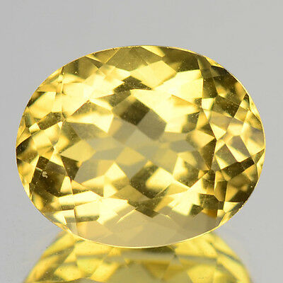 3.10 Cts Sparkling Very Rare Golden Yellow Color Natural Beryl Gemstones