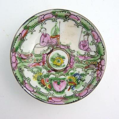 Chinese Famille Saucer, 20Th Century