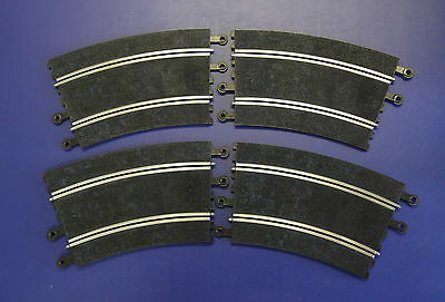 SCALEXTRIC Classic (SCX) PT84 22.5 Degree R4 Radius 4 OUTER OUTER Curves (x4)