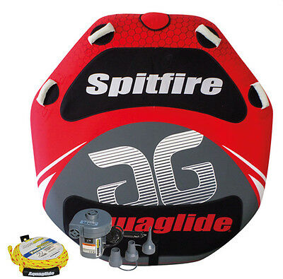 Pack bouée tractable plate Spidfire 60 - Aquaglide - 1/2 pers.-engin tractable