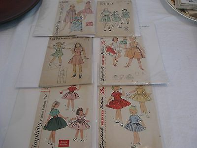 Girl's Vintage Sewing Patterns~1940's and 1950's