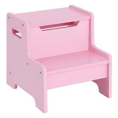 Guidecraft G87506 Expressions Step Stool: Pink