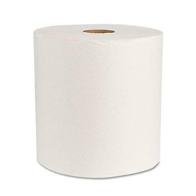 Green Universal Roll Towels Natural White 8''W 800 ft./Roll 6 Rolls...