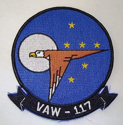 Aufnäher Patch VAW - 117 Carrier Airborne Early Warning Squadron Wallbangers USN