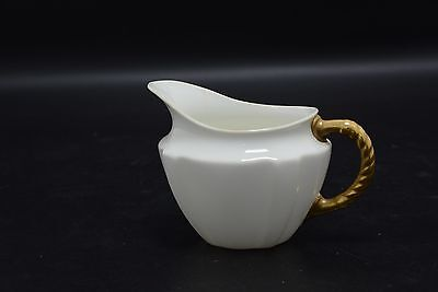 Royal Crown Derby (Reg. No. 839892) White and Gold Milk/Cream Jug (SLD8)