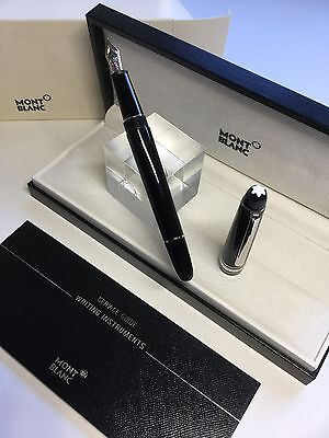 Montblanc Meisterstuck Classic 145 Platinum Line Fountain Pen BRAND NEW