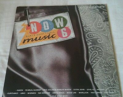 Now That's What I Call Music 6 . Viynl 33 rpm . 1985