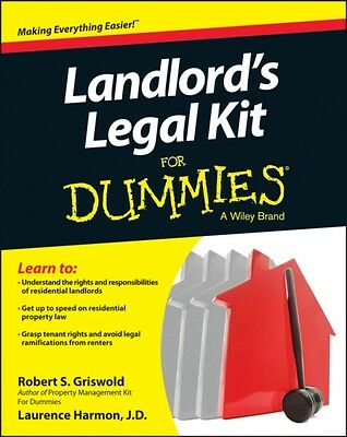 Landlord's Legal Kit For Dummies (Paperback), Griswold, Robert S.. 9781118775196