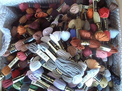 Tapestry Wool 250 Skeins Assorted colours by DMC