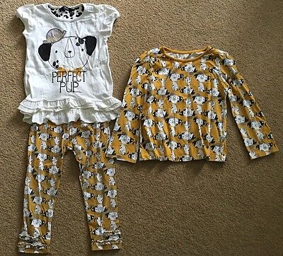 Girls Dog/Puppy Tops & Leggings Outfit - 2-3 years - Perfect Pup - George