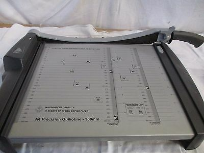 New Avery Precision Paper Cutter/guillotine Pg360 A4 With Guard & Measures