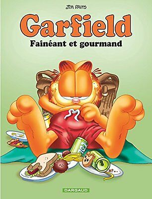 Garfield - tome 12 - Faineant et gourmand Jim Davis Anthea Shackleton DARGAUD