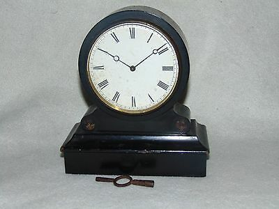 WORKING ANTIQUE 1800's FRENCH V.A.P 8 DAY MANTLE CLOCK VICTOR ATHANASE PIERRET