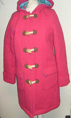 Funky duffle coat in pink by Boden 13-14 Years Box1534 n