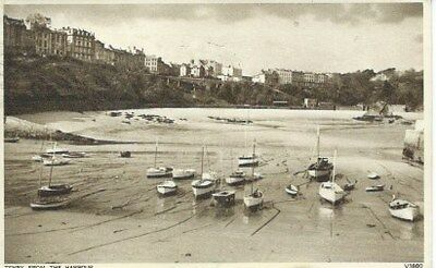 Tenby From The Harbour