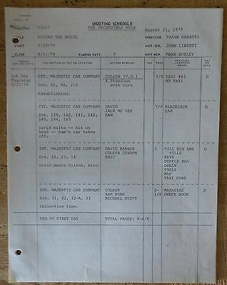 The Incredible Hulk Tv Series Show Shooting Schedule Script Episode Behind The W