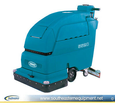 Reconditioned Tennant 5520 Walk Behind Floor Scrubber 26""