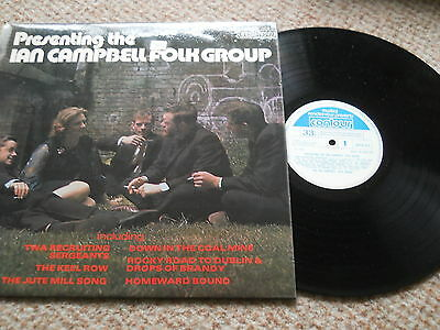 Presenting The Ian Campbell Folk Group Contour 1964 Near Mint Uk 1St Press