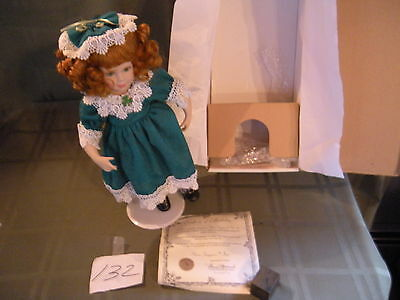 "Show Stoppers Musical ""Colleen""  Porcelain doll Florence Maranuk in Original Box"