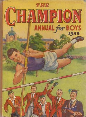 The Champion Annual for Boys 1955 - The Fleetway House - Acceptable - Hardcover