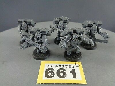 Warhammer 40,000 Space Marines Death Company Assault Squad 661