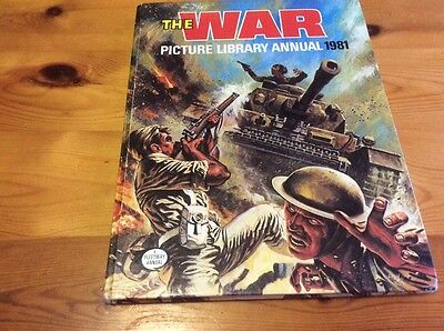 War Picture Library Annual 1981 Unclipped