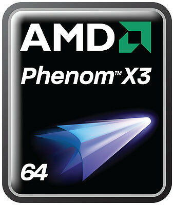 Cpu Processeur AMD PHENOM x3  8650 -  (3 coeurs) - Socket AM2 / AM2+