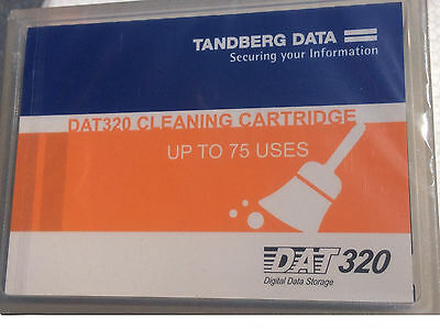 TANDBERG DATA 434006 DAT320 Universal Cleaning Cartridge (NEW)