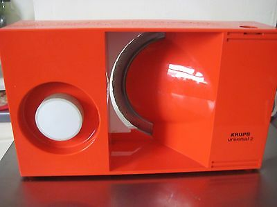 KRUPS UNIVERSAL 2 Vintage Retro  Food Slicer. MADE IN GERMANY + Orig Box As NEW.