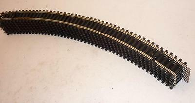 8 x HORNBY 00 gauge CURVED TRACK 438mm 2nd radius - NICKEL SILVER - R607 - NEW