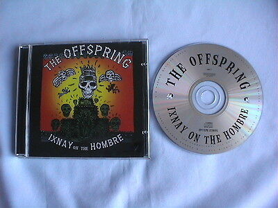 """Offspring """"ixnay On The Hombre"""" Promo Cd Album"""