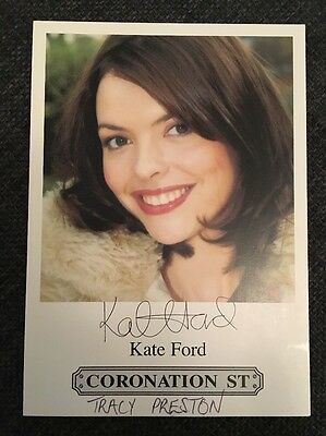 Coronation Street Cast Card - Tracy Barlow - Kate Ford
