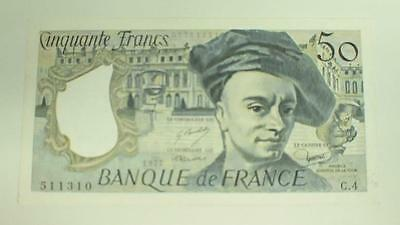 France 50 Francs 1977 Uncirculated Banknote