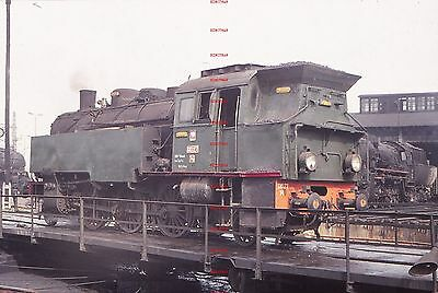 RUA667d POLAND steam locomotive Okl27-14 Original 35mm slide with copyright