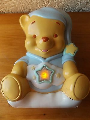 Winnie The Pooh Musical, Singing Cot Toy With Lights And Projected Pictures