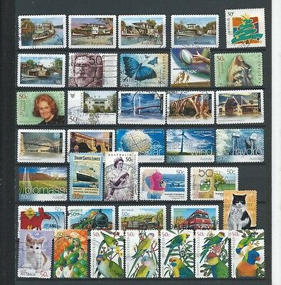 (024) Australia, Used, Stamp Collection