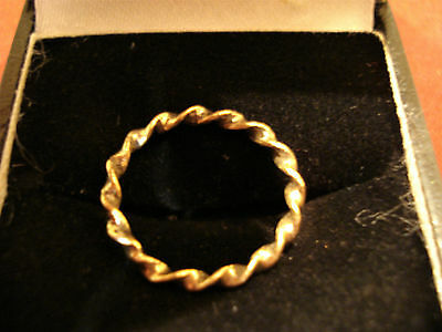 Genuine Ancient Roman 'twist' Ring--Detector Find