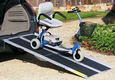 6'ft/1.8m Electric Scooter Wheelchair Folding Car Loading Ramp
