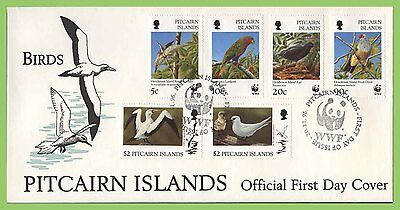 Pitcairn Islands 1996 WWF Birds Issue on First Day Cover