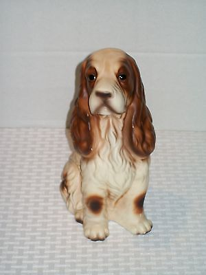 Cocker Spaniel Dog Figurine 8 Inches Tall Vintage Norleans Dog Figurine Japan