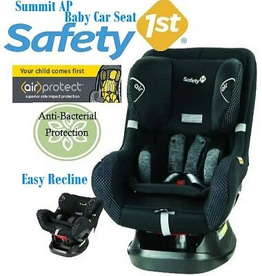 New Safety 1St Summit Ap Convertible Car Seat With Air Protect - Grey