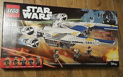 LEGO Star Wars 75155 Rebel U-Wing Fighter No Mini Figures Included New Rogue One