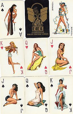 "SUPERB VINTAGE PACK ""BIBA Lovely Ladies"" PACK of Playing Cards"