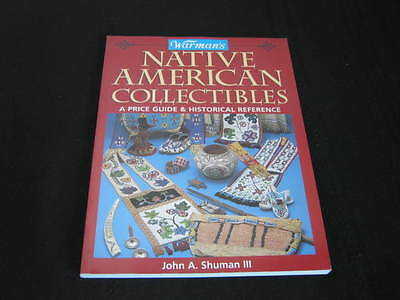 1998 Book Warman's Native American Collectibles Price Guide Historical Reference