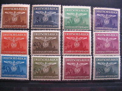 WWII  German FULL SET stamps GENERALGOUV.  1943UNC.(2)